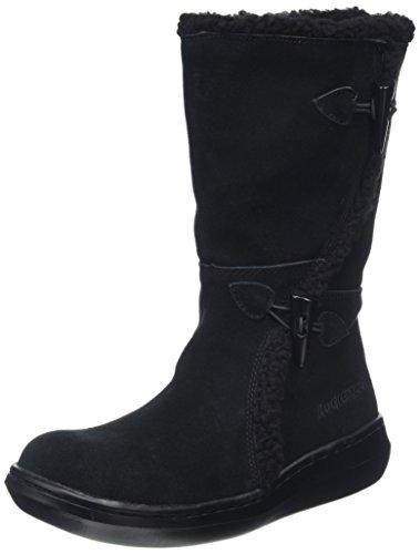 Rocket Dog SLOPE damskie buty zimowe z ciepłą wyściółką, czarny - Schwarz Black Ag7-39 EU