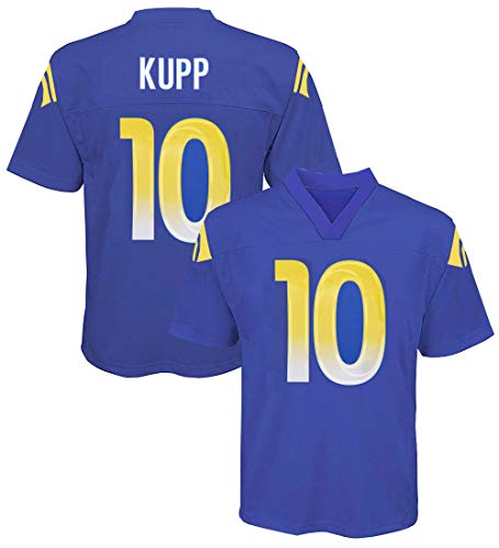 Outerstuff Cooper Kupp Los Angeles Rams NFL Boys Youth 8-20 Royal Blue Home Mid-Tier Jersey (Youth Small 8)