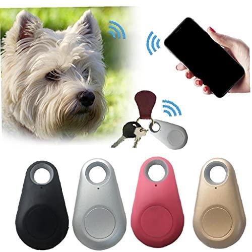 Ruluti Animali Mini Anti Perso Tracer Impermeabile per Pet Dog Cat Keys Sacchetto del Raccoglitore Bambini Trackers Nero