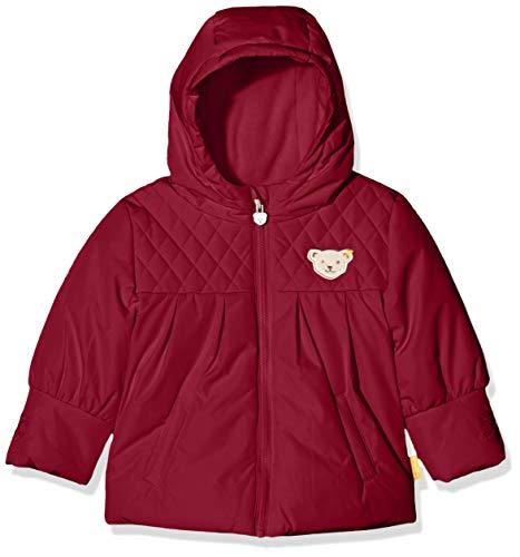 Steiff Baby-Mädchen Jacke, Rot (BEET RED 4010), 62 (Herstellergröße:62)