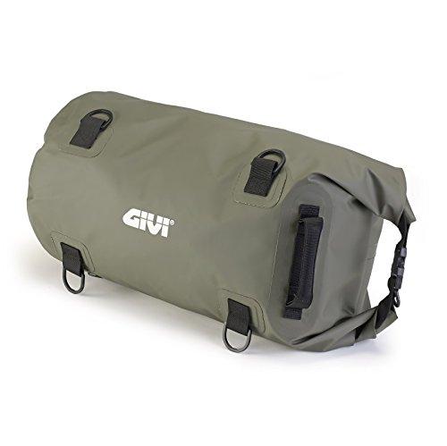 Gepäckrolle für Harley Davidson Sportster Forty-Eight 48 (XL 1200 X) Givi EA114KG 30 Liter grün