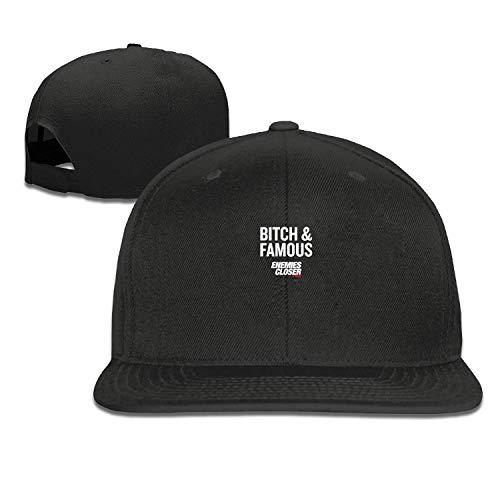 ETXHU Gorra de Camionero Enemies Cierre de Perra Famosa Gorras para Hombre Gorras para Mujer clásico Deporte Casual Plain Sun Hat