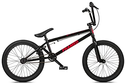 Framed Attack XL BMX Bike Mens Sz 20in/21in Top Tube Black/Red