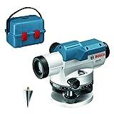 Bosch Professional Niveau Optique GOL 26 D (Grossissement 26x, Unité de Mesure : 360 de grés, Portée : jusqu'à 100 m, dans un Coffret de Transport)