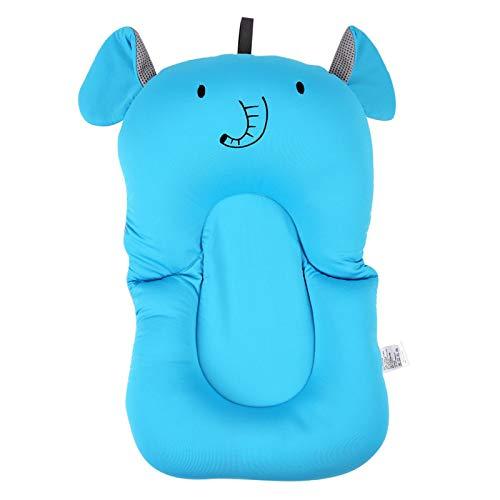 Cojín flotante para bebés, fuerte fluidez segura insípido almohada flotante cómoda, para(blue, Elephant without hook)