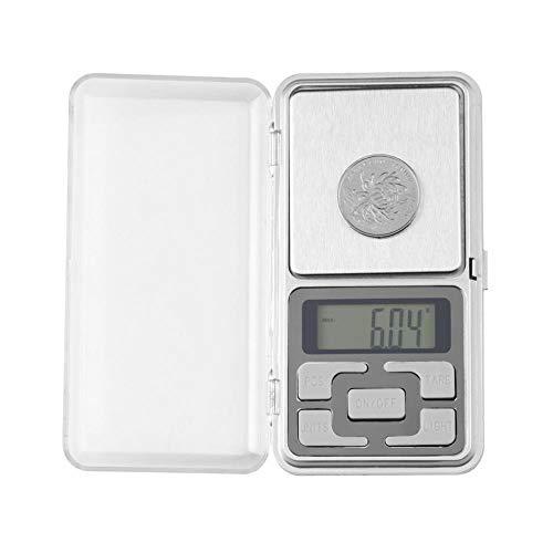 1 Stück 200 g x 0,01 g Mini-Digitalwaage Elektronischer Taschenschmuck Edelstein Waage LCD-Waage für Diamond Tea Medicine