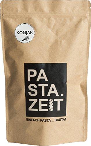 Pastazeit Bio Konjak Spaghetti, No Carb Nudeln, Glutenfrei, Low Carb, Kein Fett, kalorienarme Nudeln nur 9 kcal, Vegan, kohlenhydratfrei, Shirataki (5x400g)