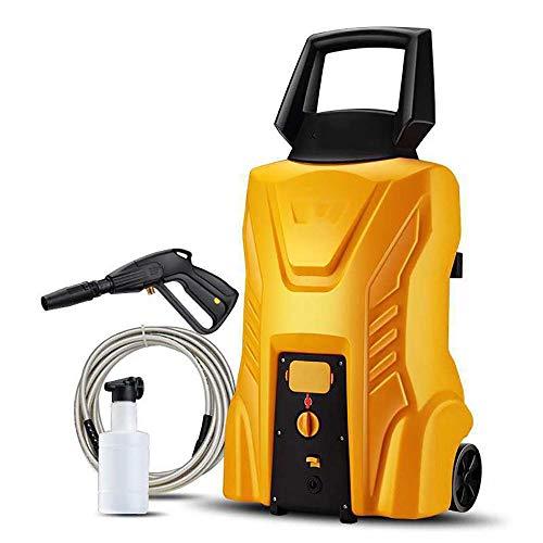 Hochdruckreiniger Auto, Elektrischer Hochdruckreiniger mit Wassertank, mit Kupfermotor Hochdruckpistole für Haushalt Auto Reifen Garten