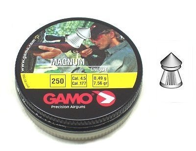 Gamo - Balines Magnum de calibre 4,5 para carabina de aire comprimido
