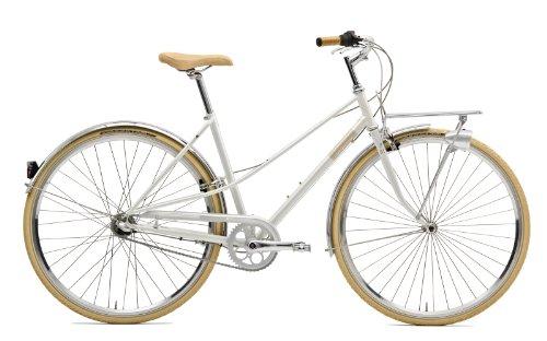 Creme Citybike Caferacer Lady Solo 3 Speed, White, 48.5, BI-CRE-4207_49.5