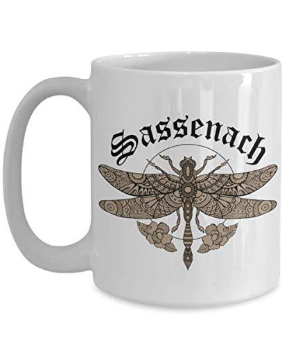 Egoa Ceramic Mok Schotten Sassenach Libelle Beste Sassenach Libelle Gastlisch Schott porseleinen mok keramische mok speciale thee grappig 330 ml jubileum verjaardag nieuwheid mode