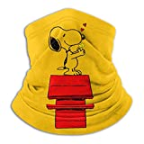 Película de Snoopy Calentador de cuello de microfibra Estudiante de enfermería Tubo de polaina de cuello Calentador de oreja Diadema Bufanda Mascarilla