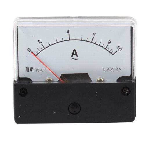Aexit YS-670 AC 0-10A Rechteck-Analoganzeige AMP-Meter-Messgerät (c4b89ac43916ac856b8a717248db9a6d)