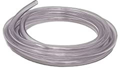 "1/4"" ID x 3/8"" OD x 10' pre-cut PVC flexible plastic tubing. High quality, flexible PVC compound in compliance with FDA and 3A Sanitary Standards. USDA approved for meat and poultry plants. Uses include: Food and beverage handling, processing and dis..."