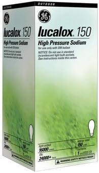 Ge overseas High Pressure Sodium Bulb price Lucalox 150 In. W 7.75 2000 Mogul K