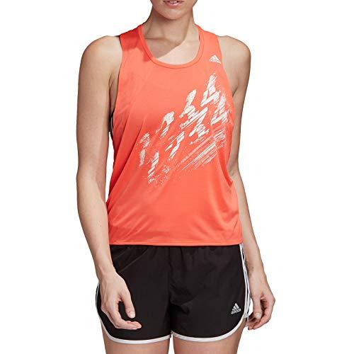 adidas Speed Tank W Camiseta sin Mangas, Mujer, Solar Red, S