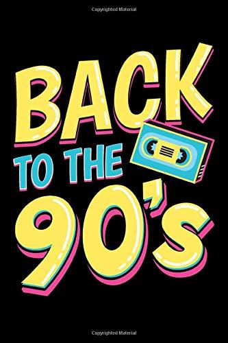 Back to the 90`s: Notitzbuch I A5 I Zeichenbuch I Kreativ I Planer I Ideensammlung I 90er I Retro
