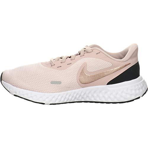 Nike Women's Revolution 5 Running Shoe, Barely Rose/Metallic Red Bronze-Stone Mauve, 5 Regular US