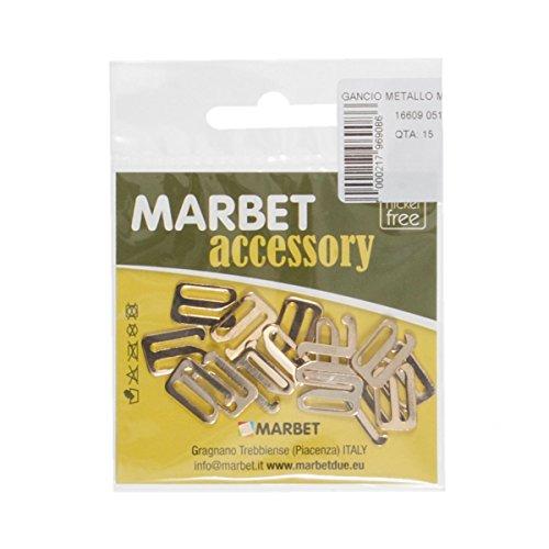 Marbet MB16609.051  Ersatz-Dessoushaken   offen   15mm   30Stück   golden
