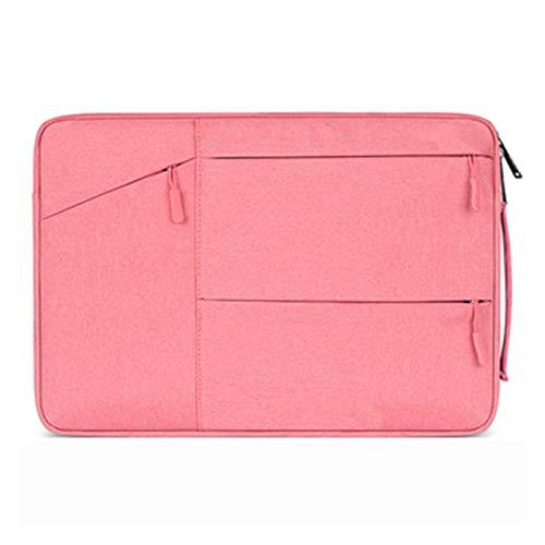 YNLRY Funda para ordenador portátil MacBook Air Pro 13 12 11 13.3 14 15 15.6 16 Funda para ordenador portátil HP Xiaomi (color rosa, tamaño: 15 pulgadas)