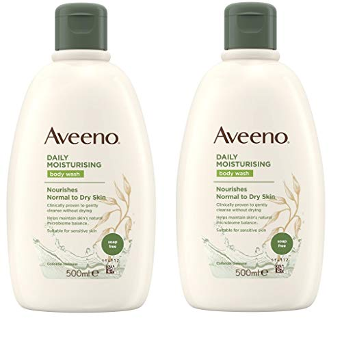 Aveeno 2 PACK Body Wash 500ml by Aveeno
