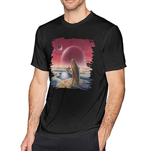 Men T Shirt The Claypool Lennon Delirium South of Reality Classic Top Cotton Short Sleeve Kurzarm Tee Black