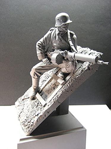 """PANGCHENG 1/16 Imperial 209 °"""" Regimiento de infantería Figura de Resina Soldados GK WWII Materia Militar Sin Recubrimiento Sin Color"""