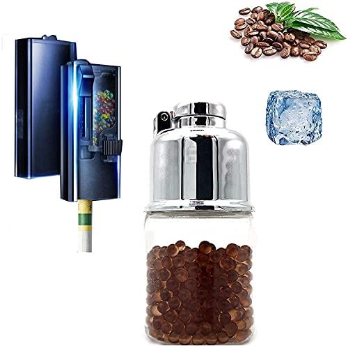 Capsules aromatiques de Perles Explosives Bricolage, filtres à Capsules, filtres à la Menthe poivrée, Cartes daromathérapie, Cartes de saveur de Brassage (Glace-café)