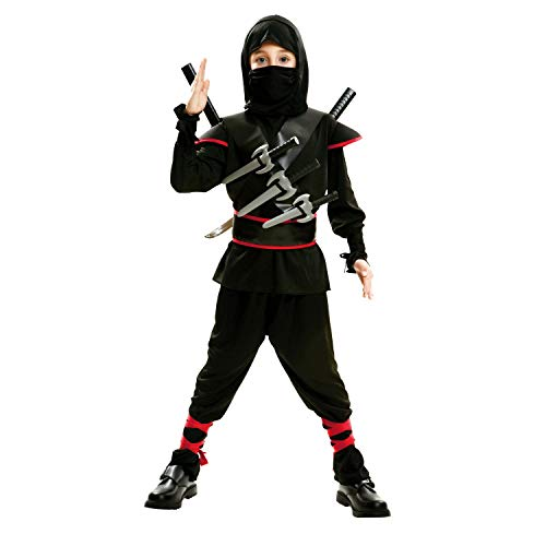 My Other Me Me-202041 peliculas y tv Disfraz de ninja killer para niño, color negro, 5-6 años (Viving Costumes 202041)
