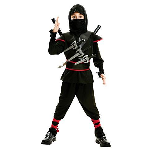 My Other Me Me-202041 peliculas y tv Disfraz de ninja killer para niño, color negro, 5-6 años (Viving Costumes 202041)
