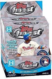 2010 Topps Finest MLB Baseball HOBBY box (12 pk)