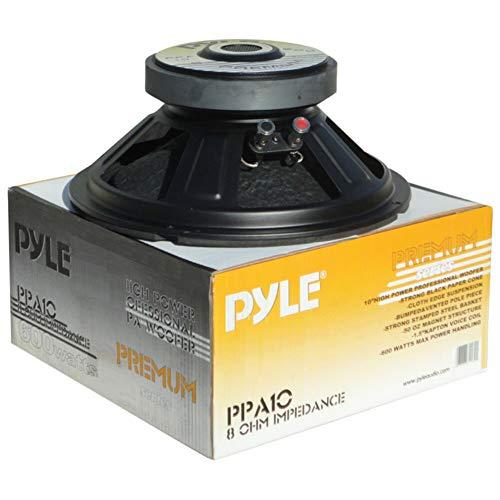 1 WOOFER PYLE PPA10 PPA 10 Altavoz 25,00 cm 250 mm 10