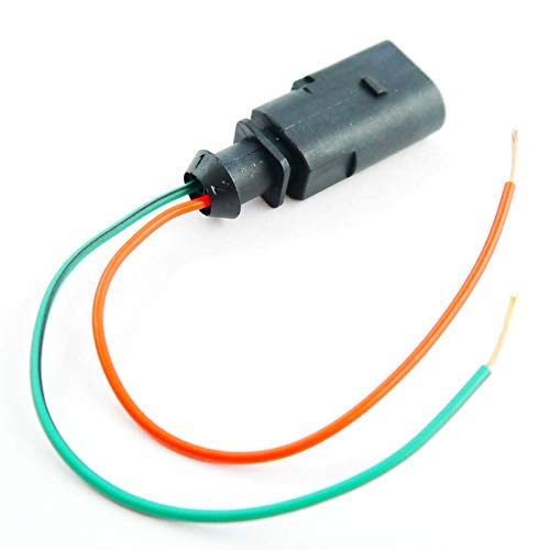 Auotdily - 2 Pin Anschluss vor Verdrahtet Stecker Buchse Sko 1J0973802 Kabelbaum Reparatur