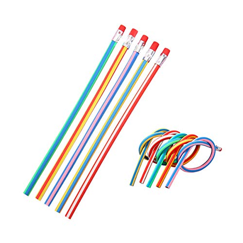Flexibler Bleistift, 40 Stück farbige magische Stifte