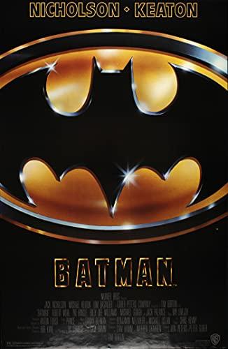 Tainsi ASHER Gift Affiche de film vintage Batman – poster mat 28 cm x 43 cm – LS-290