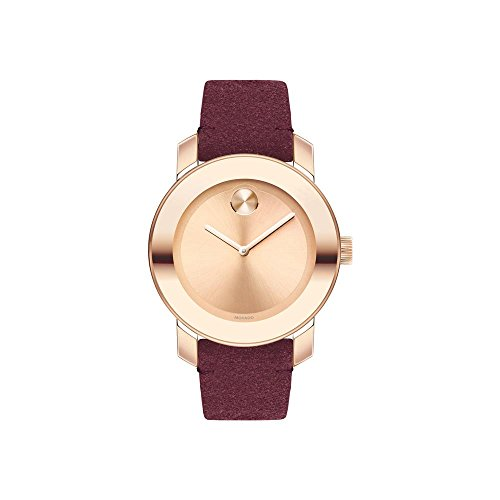 Movado Women's Bold - 3600447 Stainless Steel/Rose Gold Ion-Plated One Size