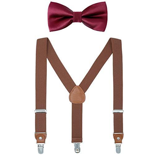 Suspender Bowtie Sets