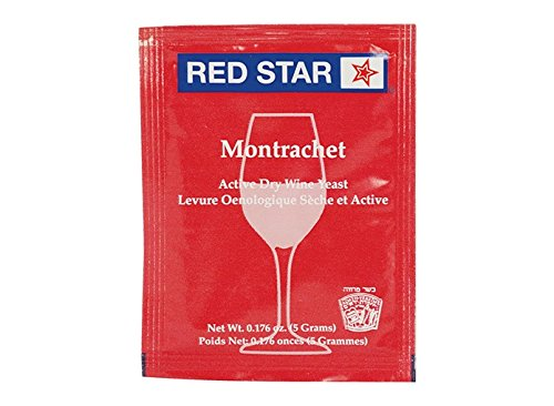 Homebrewers Outpost - 40839-MB Dry Wine Yeast - Montrachet (5 g) (Pack of 10)