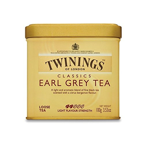 Twinings Earl Grey Loose Tea Caddy (International Blend) - 100g