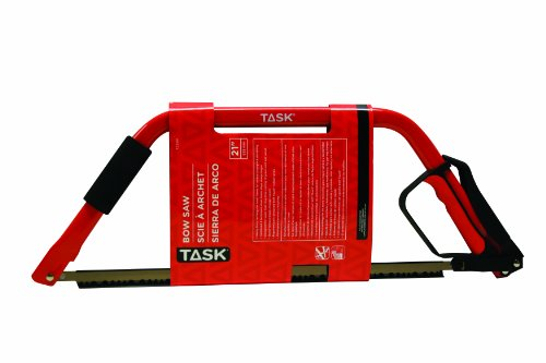 Task Tools T22301 21-Inch Bow Saw