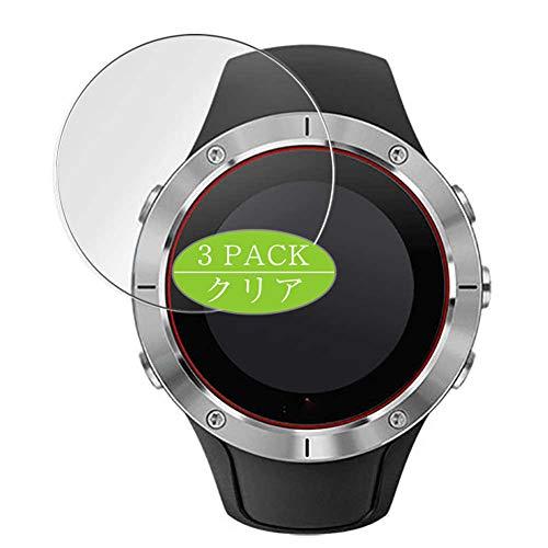 Vaxson - Pellicola protettiva per display, compatibile con Suunto Spartan Trainer Wrist HR Smartwatch Hybrid Watch, pellicola protettiva HD [non in vetro temperato]