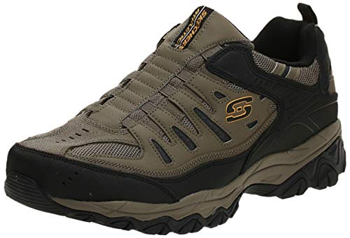 Skechers Sport Men's Afterburn Extra Wide Fit Wonted Loafer,pebble,9.5 4E US