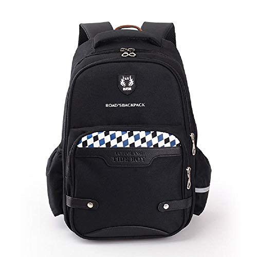 Pupils' Waterproof Oxford Cloth Children's Backpack, Student Schoolbag to Reduce The Burden of Spine Backpack