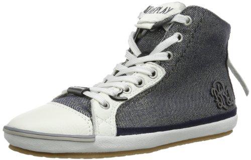 Replay Electra Metal M GWV14 .000.C0072S Damen Sneaker, Blau (Navy 40), EU 36