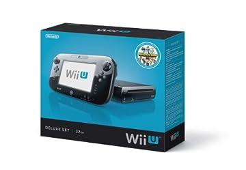 Nintendo Wii U Console - 32GB Black Deluxe Set