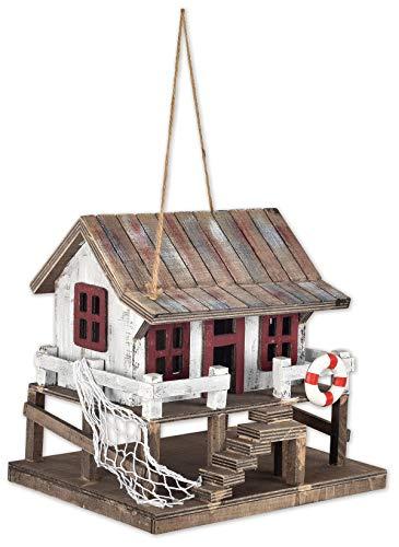Sunset Vista Designs BPS-23 Decorative and Functional Outdoor Birdhouse, Shoreline