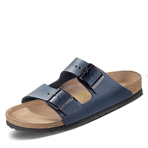Birkenstock Schuhe Arizona Naturleder Normal Blue (051151) 36 Blau