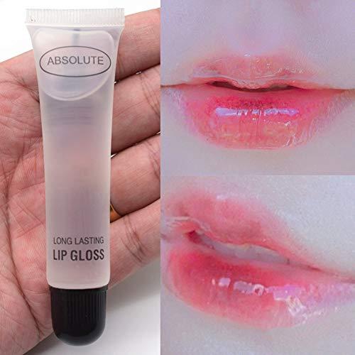 Lippenöl, Farbloser Lipgloss, Feuchtigkeitsspendende, glatte, feine Linien, die die Hautfarbe...