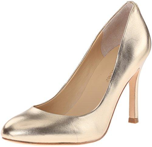 Ivanka Trump Women's Janie Dress Pump, Gold, 10 M US