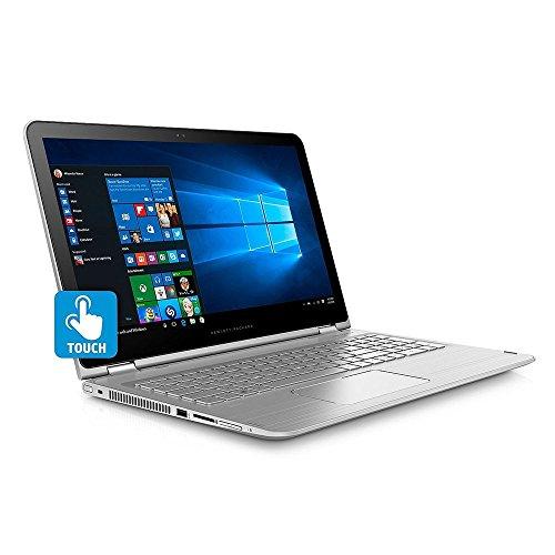 "2018 Newest HP Envy X360 Business Flagship 2-in-1 Laptop PC 15.6"" FHD Touchscreen Intel i7-7500U Processor 8GB DDR4 RAM 256GB SSD Intel 620 Graphics Backlit-Keyboard B&O Audio Windows 10-Silver"